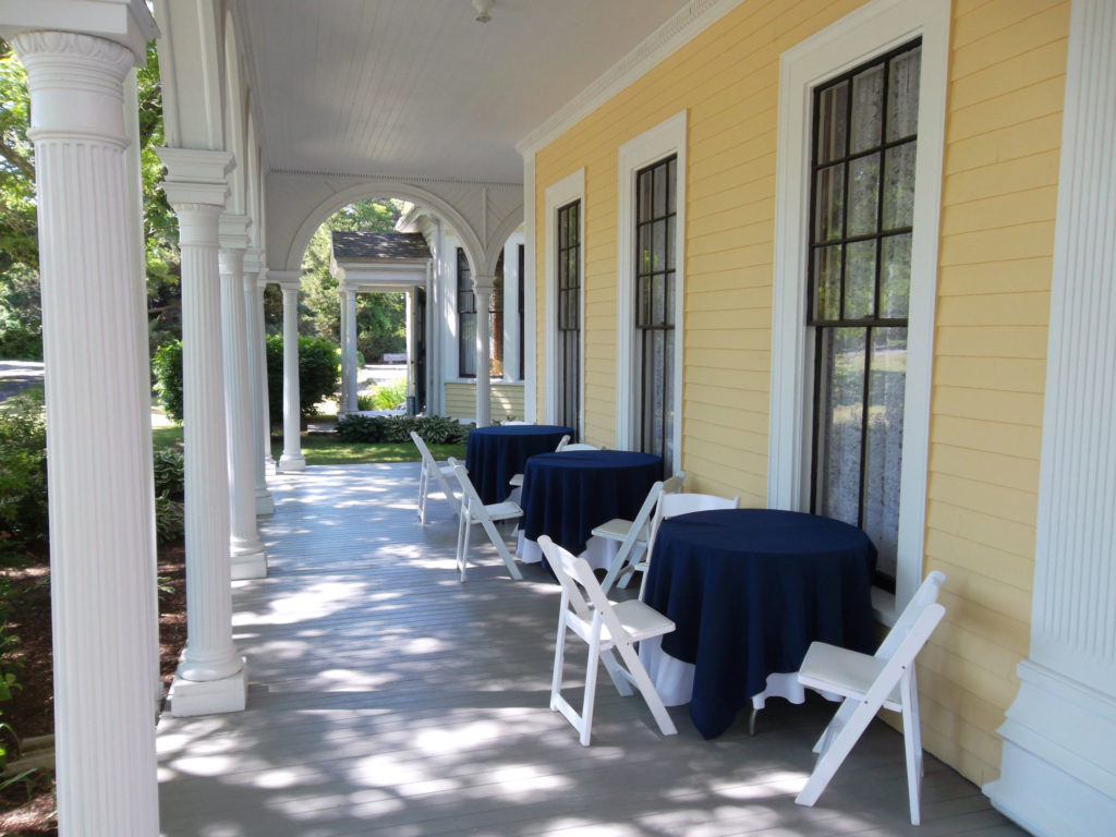 Front Porch -- Cafe Seating